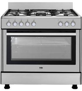 Beko cocina gas 4 fuegos gm15121dx
