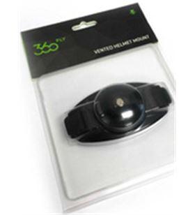 Def soporte casco negro para camara 360fly 360sopcas