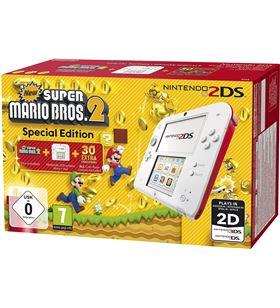 Nintendo+wii+u+ds+3ds consola nintendo 2ds hw roja+super mario bros 2 2203899