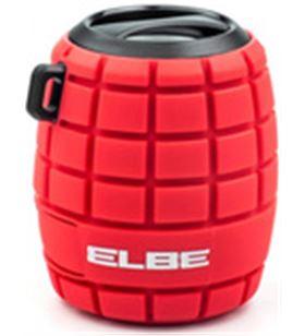 Elbe alt-44wr-bt altavoz bluetooth rojo splashproof