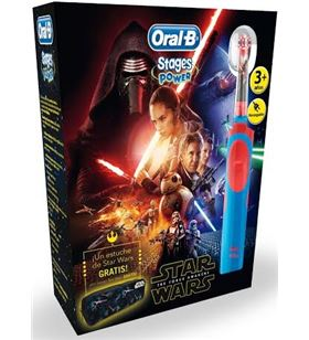 Braun cepillo dental infantil packstarwars