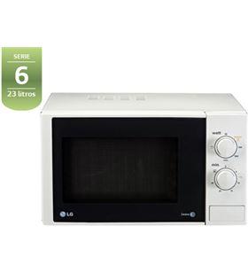 Lg microondas con grill 800w 23l mh6322ds