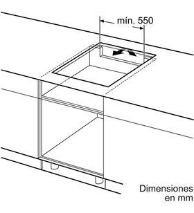 Balay placa inducción de 60cm ancho 3EB967FR Placas induccion - 3EB967FR