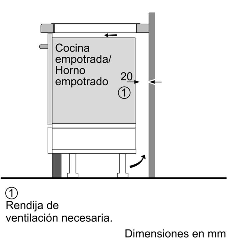 Balay 3EB967FR placa inducción de 60cm ancho Placas induccion - 35445982_8680210735