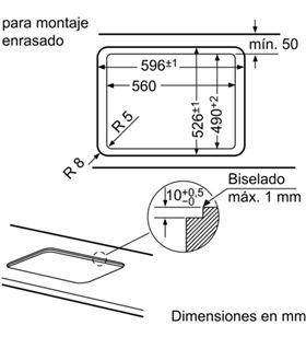 Balay 3ETG663HB placa gas 60cm de ancho Placas encimeras - 3ETG663HB