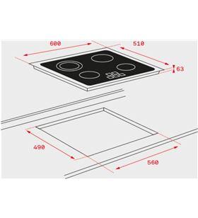 Teka 40239010 encimera electrica cristal tz6320 Encimeras - TZ6320