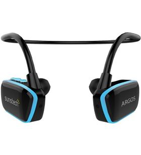 Sunstech auricular mp3 deporte ARGOS4GBBL azul Auriculares - ARGOS4GBBL
