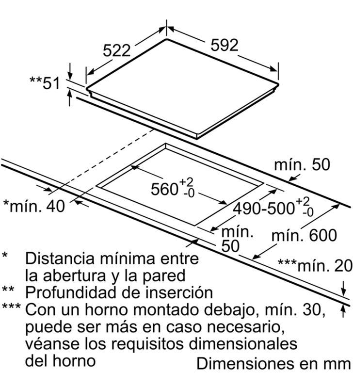 Balay placa induccion 60cm 3EB965LR Vitroceramicas induccion - 35444142_8447117745