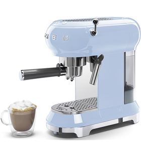 Smeg maquina cafe espresso azul celeste ECF01PBEU Cafeteras espresso - ECF01PBEU