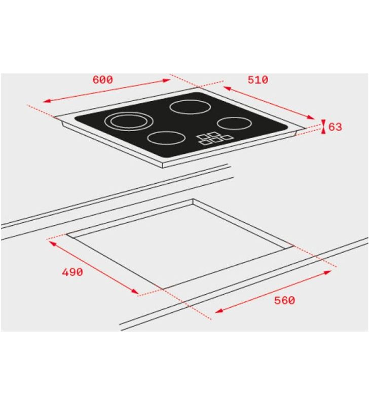 Teka placa vitroceramica tb6415 40239042 Vitroceramicas induccion - 33345857_5036276585