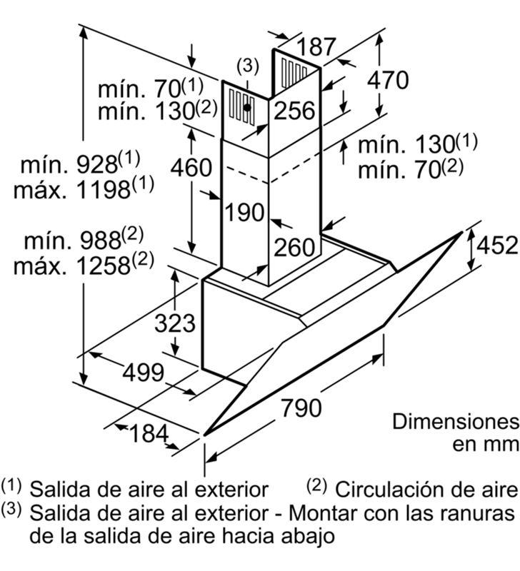 Balay 3BC587GG campana decorativa cristal gris Campanas extractoras decorativas - 53125126_2905976036