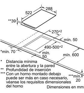 Balay placa vitroceramica 3EB730LQ 30cm ancho Vitroceramicas induccion - 3EB730LQ