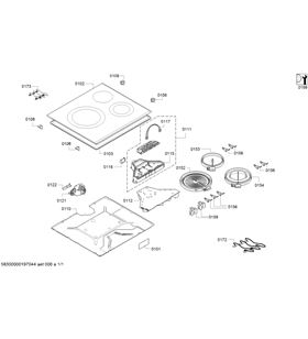 Siemens placa eléctrica vitroceramica ET651FKP2E 60cm 3 zonas - ET651FKP2E