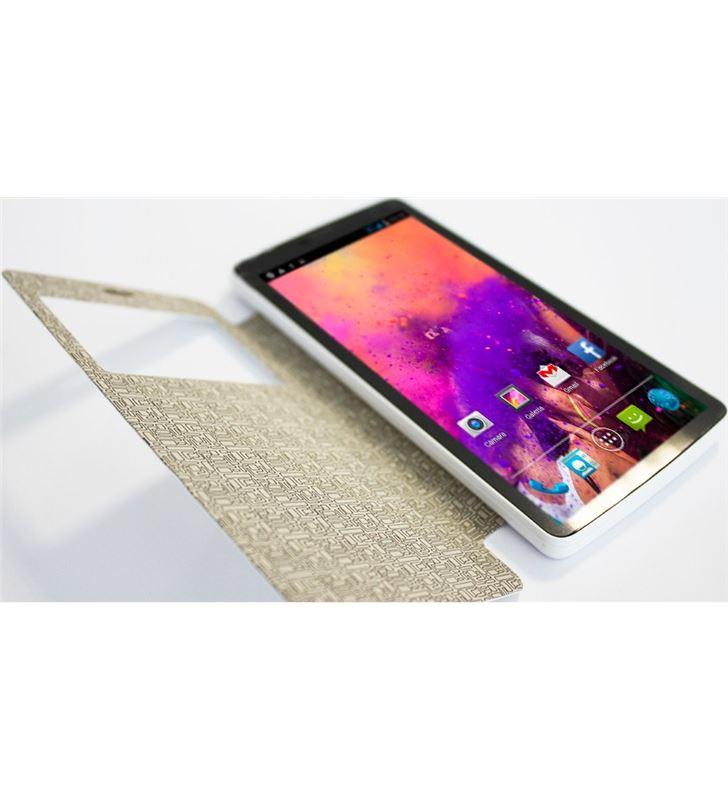 Flip cover Billow 5'' blanco SFP501W Accesorios telefonía - 25540128_3378