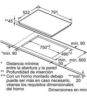 Balay 3EB785LQ, encimera, vitrocerámica, encastrable - 3EB785LQ