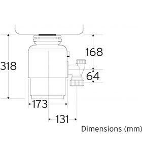 Teka triturador basura tr 50.4 40197020 Accesorios.. - 40197020