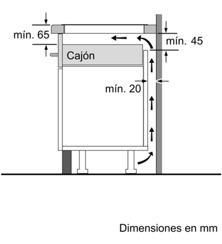 Balay placa induccion independiente 3EB865XR 60cm 3 zonas - 35446033_6344179298