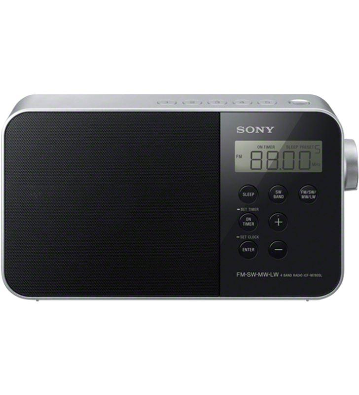 Radio portatil Sony, icfm780slw.ced, diseño ICFM780SLB - 22208927-SONY-ICFM780SLB.CED-890852