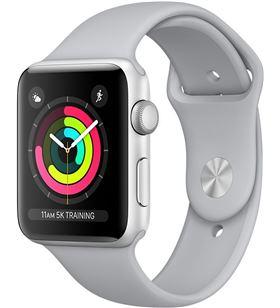 Apple watch 3 42mm. silver mql02ql/a 190198509338