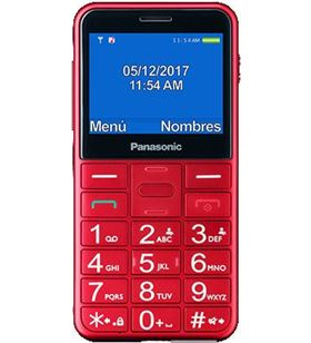 Movil Panasonic kx-tu150exr 2.4'' bluetooth rojo KXTU150EXR - 5025232882670