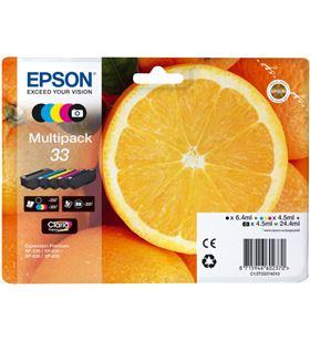 Multipack tinta Epson 33 claria premium 5 colores EPSCT13T3337401 - EPSCT13T33374011