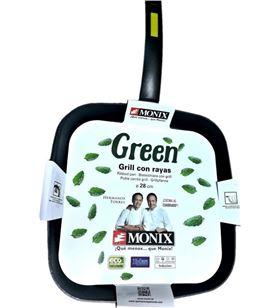 Bra-monix grill monix green 28x28 cm mnxm481231