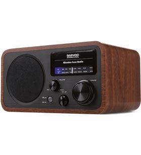 Radio retro Daewoo drp-134 am/fm analógica madera DAEDBF242 - 8413240602590