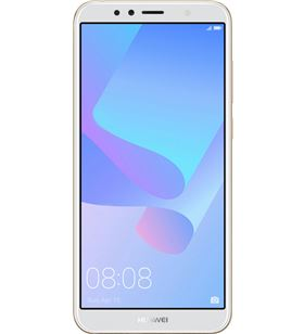 Movil Huawei y6 2018 atomu 4g 5.7'' 2/16gb 13mp oro Y6-2018GOLD