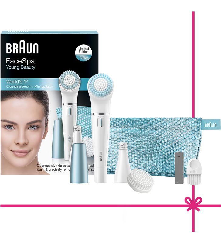 Braun depiladora facial 832E gift edition Depiladoras fotodepiladoras - 28491739_2835897609