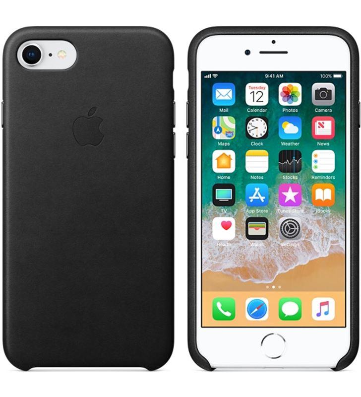 Funda Apple iphone 8/7 piel negra MQH92ZM/A Accesorios telefonía - 38079171_8563339383