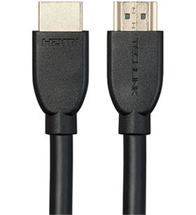 Techlink cable hdmi (m) - hdmi (m) 3d 4k 5 mts tech103205