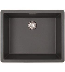 Fregadero sintetico Teka radea500400 negro metal 40143831