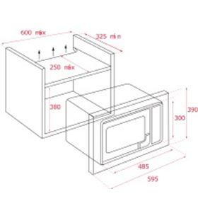 Teka 40584203 microondas ml 820 bis blanco integrable - 8421152154397