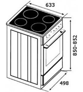 Cocina vitro Teka fs 502 4ve wh 40297957 Combos conjuntos - 8421152156216-