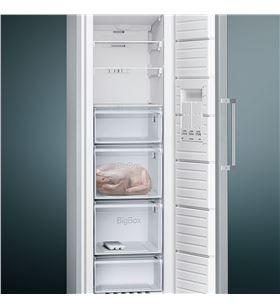 Congelador vertical nofrost Siemens GS36NVI3P inox - 4242003804254