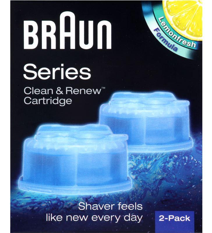 Liquido limpiador Braun CCR2, para afeitadoras barbero afeitadoras - 6837949_0884621188