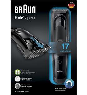 Braun HC5050 cortapelos barbero , recargable y red, bra - HC5050
