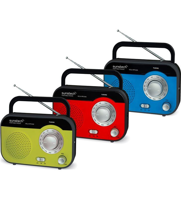 Radio de sobremesa Sunstech RPS560RD Radio - 25343635_5473