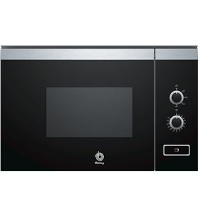 Microondas integrable Balay 3CP4002X0 negro sin grill