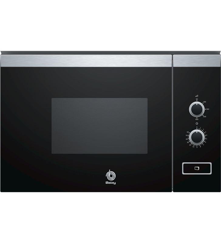Balay 3CP4002X0 microondas integrable negro sin grill - 3CP4002X0