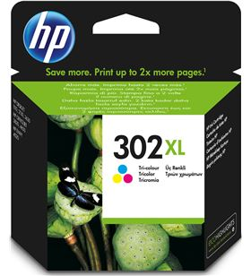 Hp cartucho de tinta original 302xl F6U67AE Fax digital y cartuchos de tinta - 0888793803073