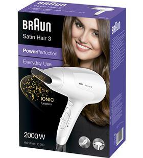 Braun HD380 secador *p&g 2000w blanco Secadores - 4210201122517