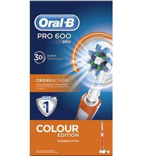 Braun cepillo dental pro600 naranja cross action PRO600NARANJA - PRO600NARANJA