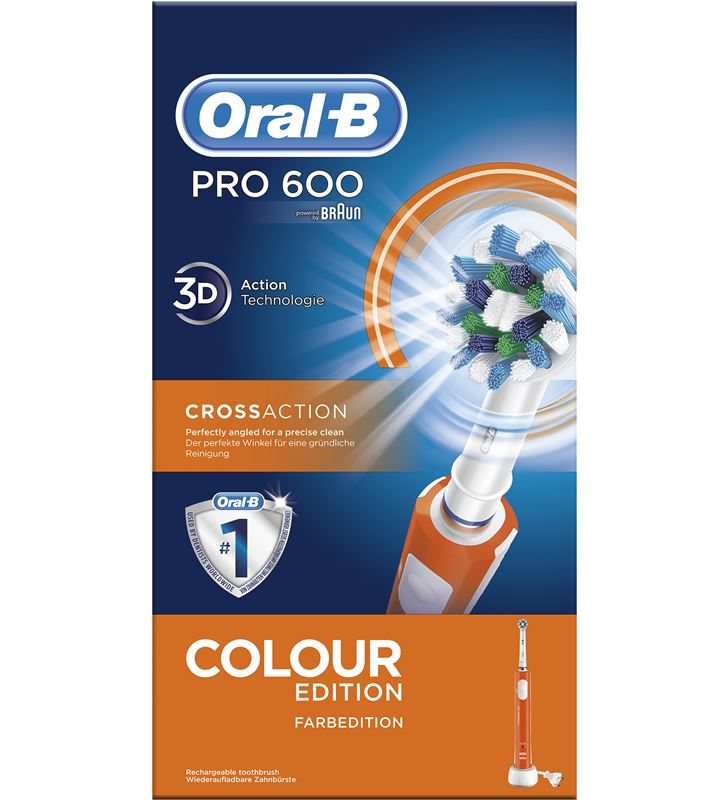 Braun cepillo dental pro600 naranja cross action PRO600NARANJA - 29419681_1527