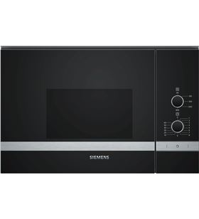 Microondas integrable Siemens BF520LMR0 negro sin grill - BF520LMRO