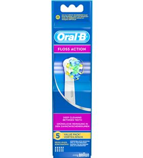 Recambio cepillo dental Braun EB253, 3 unds, flos.
