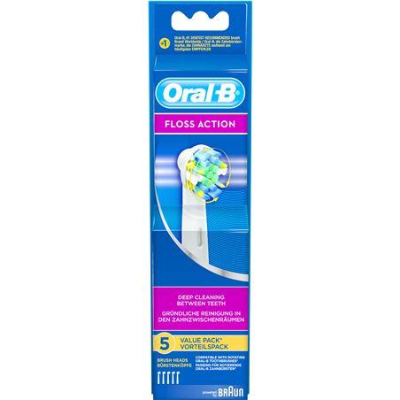 Recambio cepillo dental Braun EB253, 3 unds, flos. - EB253