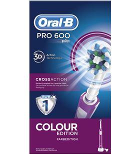 Braun cepillo dental pro600 morado cross action PRO600MORADO - PRO600MORADO