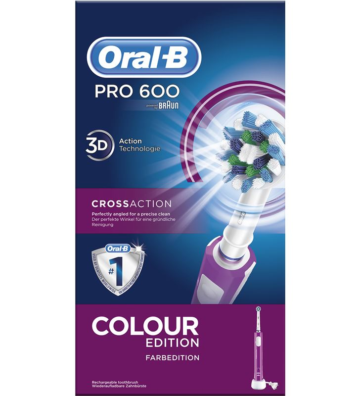 Braun cepillo dental pro600 morado cross action PRO600MORADO - 26532560_4921
