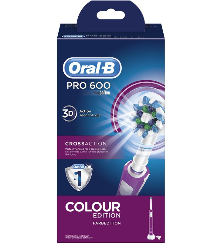 Braun cepillo dental pro600 morado cross action PRO600MORADO - 26532560_7147